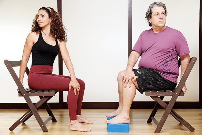yoga cadeira o fluminese